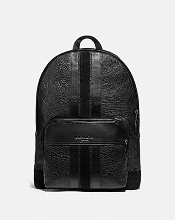HOUSTON BACKPACK WITH BASEBALL STITCH