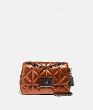 CASSIDY CROSSBODY WITH STUDDED DIAMOND QUILTING