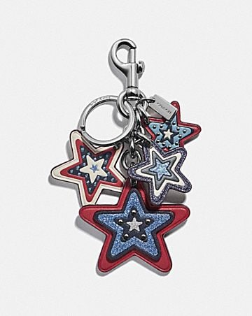 AMERICAN STAR CLUSTER BAG CHARM