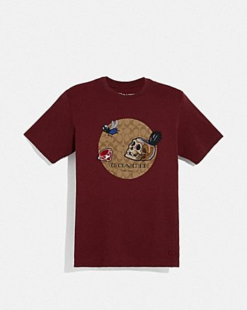 DISNEY X COACH SIGNATURE SNOW WHITE AND THE SEVEN DWARFS T-SHIRT