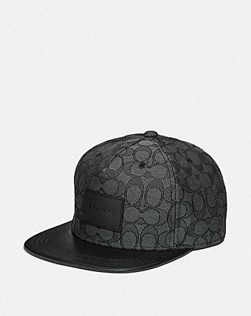 SIGNATURE FLAT BRIM HAT