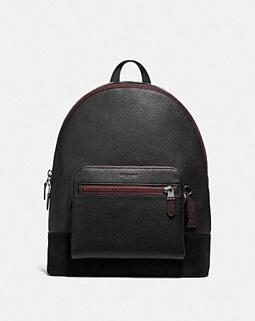 WEST BACKPACK WITH GOTHIC COACH SCRIPT