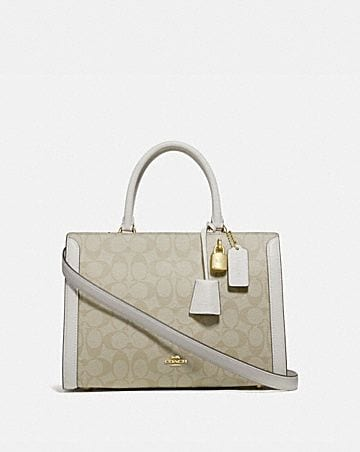 ZOE CARRYALL IN SIGNATURE CANVAS