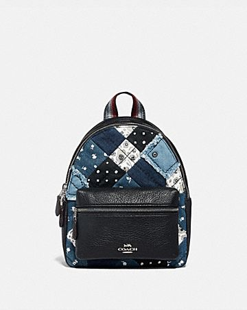 MINI CHARLIE BACKPACK WITH AMERICANA PATCHWORK
