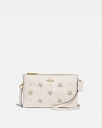 LYLA CROSSBODY WITH ALLOVER STUDS