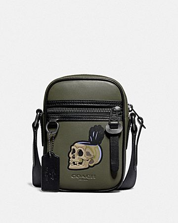 DISNEY X COACH TERRAIN CROSSBODY WITH SNOW WHITE AND THE SEVEN DWARFS SKULL MOTIF