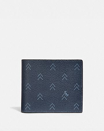 3-IN-1 WALLET WITH DOT ARROW PRINT