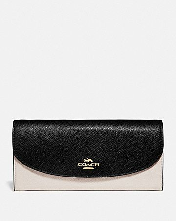 SLIM ENVELOPE WALLET IN COLORBLOCK