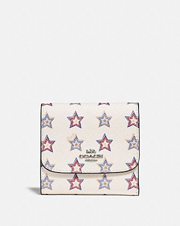 SMALL WALLET WITH WESTERN STAR PRINT