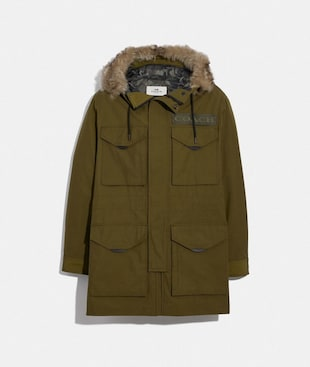 3-IN-1 PARKA WITH SHEARLING