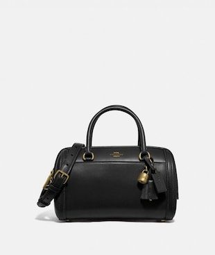 ZOE BARREL SATCHEL