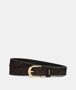 CLASSIC BELT IN SIGNATURE CANVAS