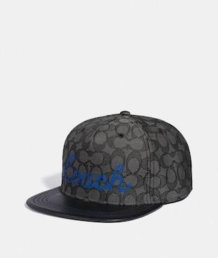 TRANSLUCENT SIGNATURE FLAT BRIM HAT
