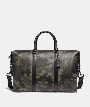 TREKKER BAG WITH CAMO PRINT