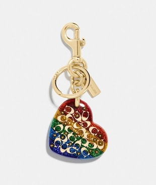 SPRINKLE SIGNATURE HEART BAG CHARM