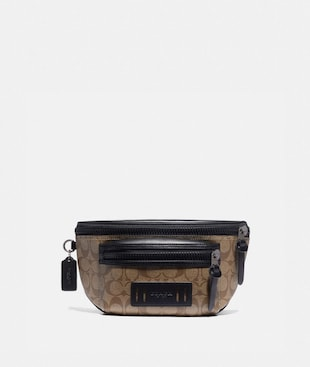 TERRAIN BELT BAG IN SIGNATURE CANVAS