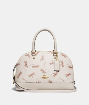 MINI SIERRA SATCHEL WITH DRAGONFLY PRINT