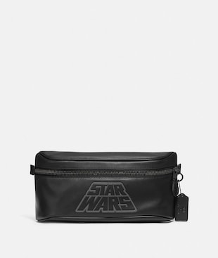 STAR WARS X COACH WESTWAY BELT BAG IN SIGNATURE CANVAS WITH MOTIF