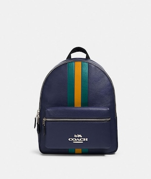 JES BACKPACK WITH VARSITY STRIPE