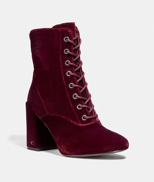EDIE LACE UP BOOTIE