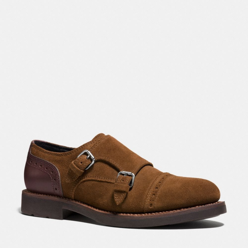 BLEECKER DOUBLE MONK SHOE