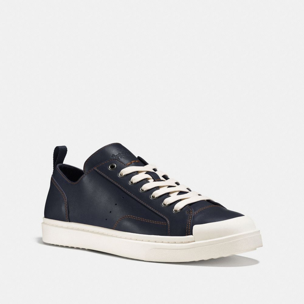 C114 LEATHER LO TOP SNEAKER
