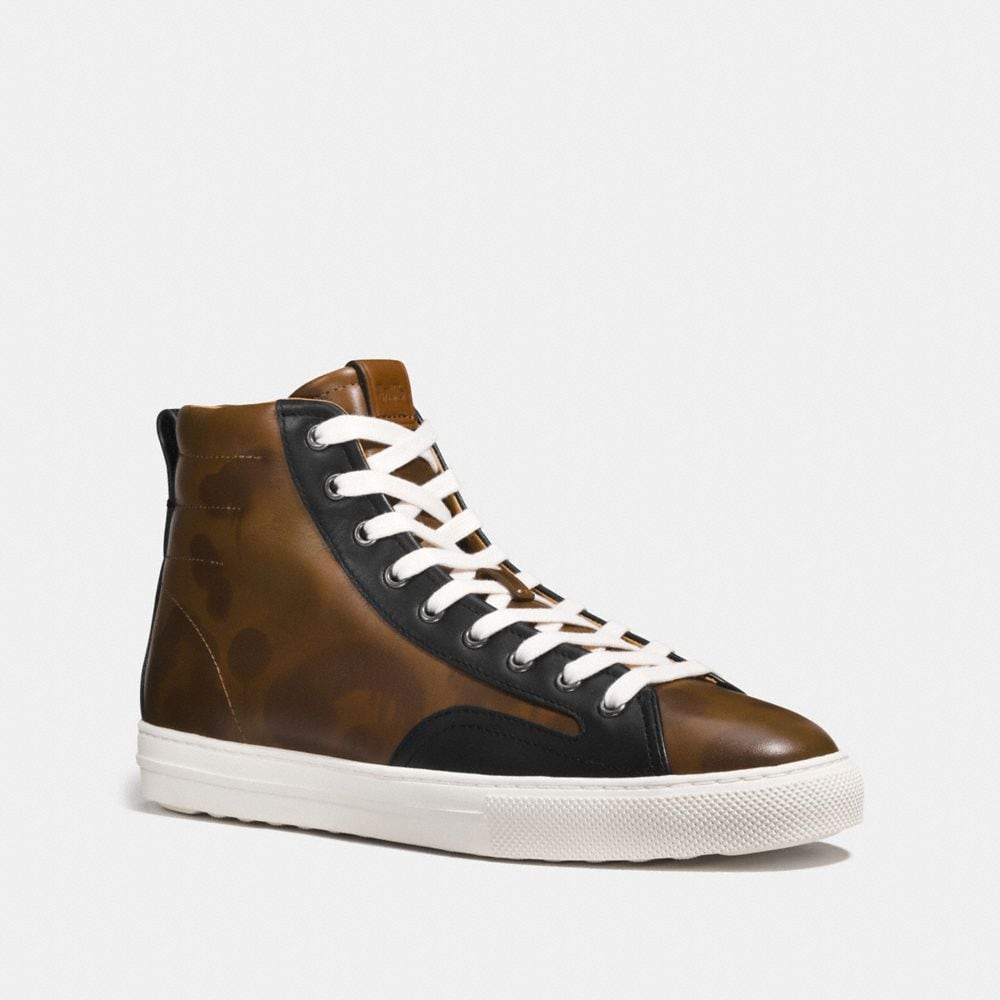 "C227 HIGHTOP-SNEAKER IM ""WILD BEAST""-DESIGN"