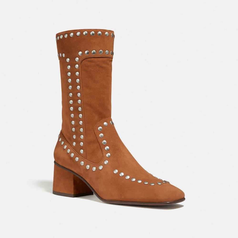 BOOTIE WITH RIVETS