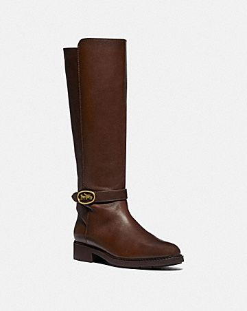 RUBY BOOT WITH EXTENDED CALF