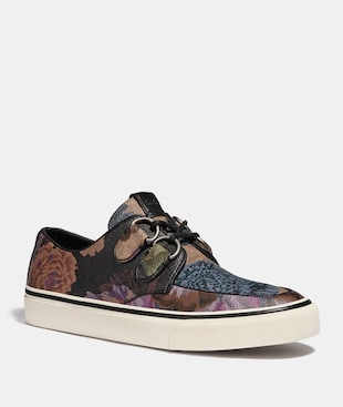 C175 LOW TOP SNEAKER WITH KAFFE FASSETT PRINT
