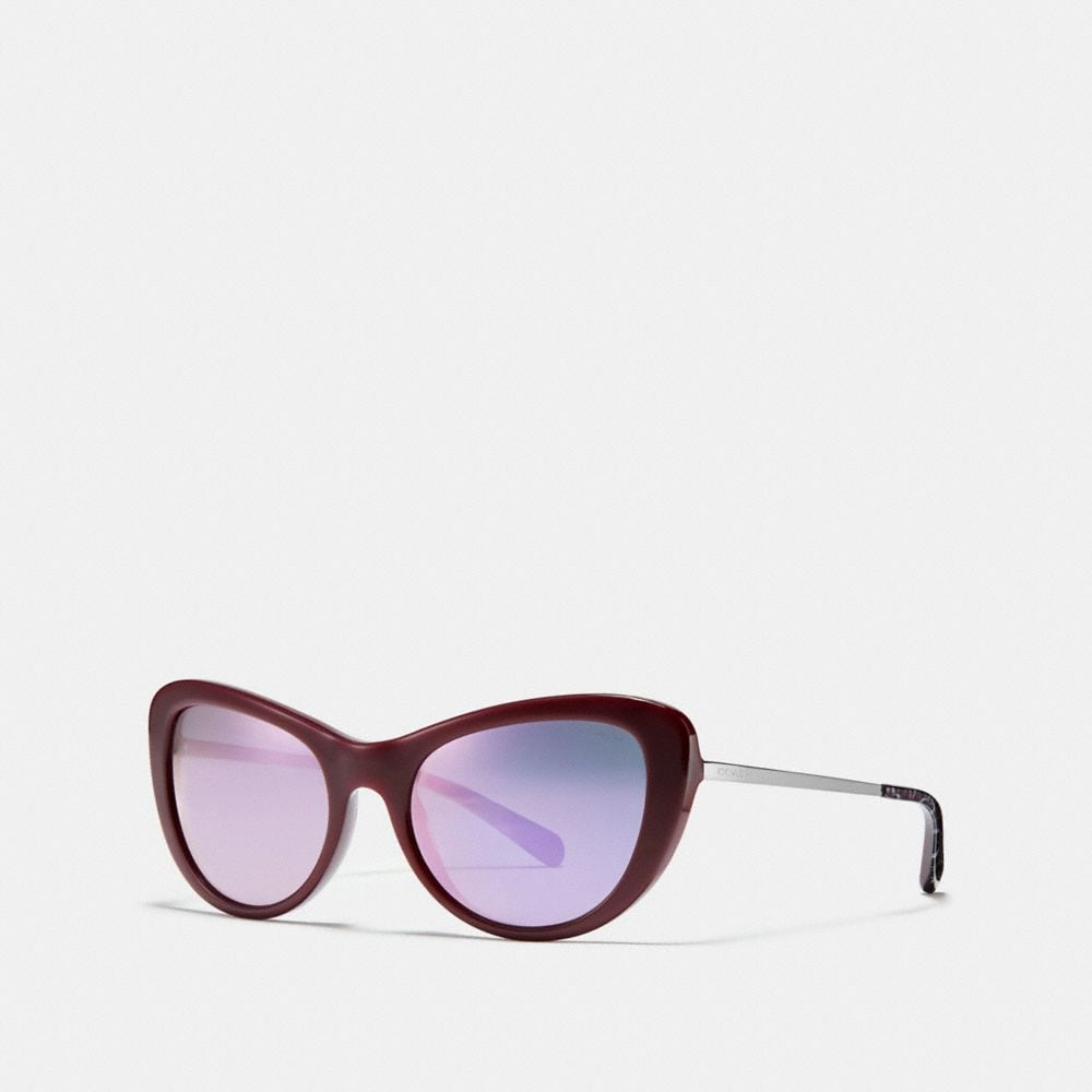OMBRE SIGNATURE CAT EYE SUNGLASSES