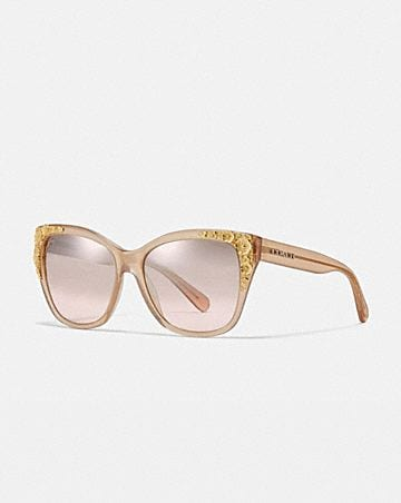 990a1f53d21 METAL TEA ROSE SQUARE SUNGLASSES ...