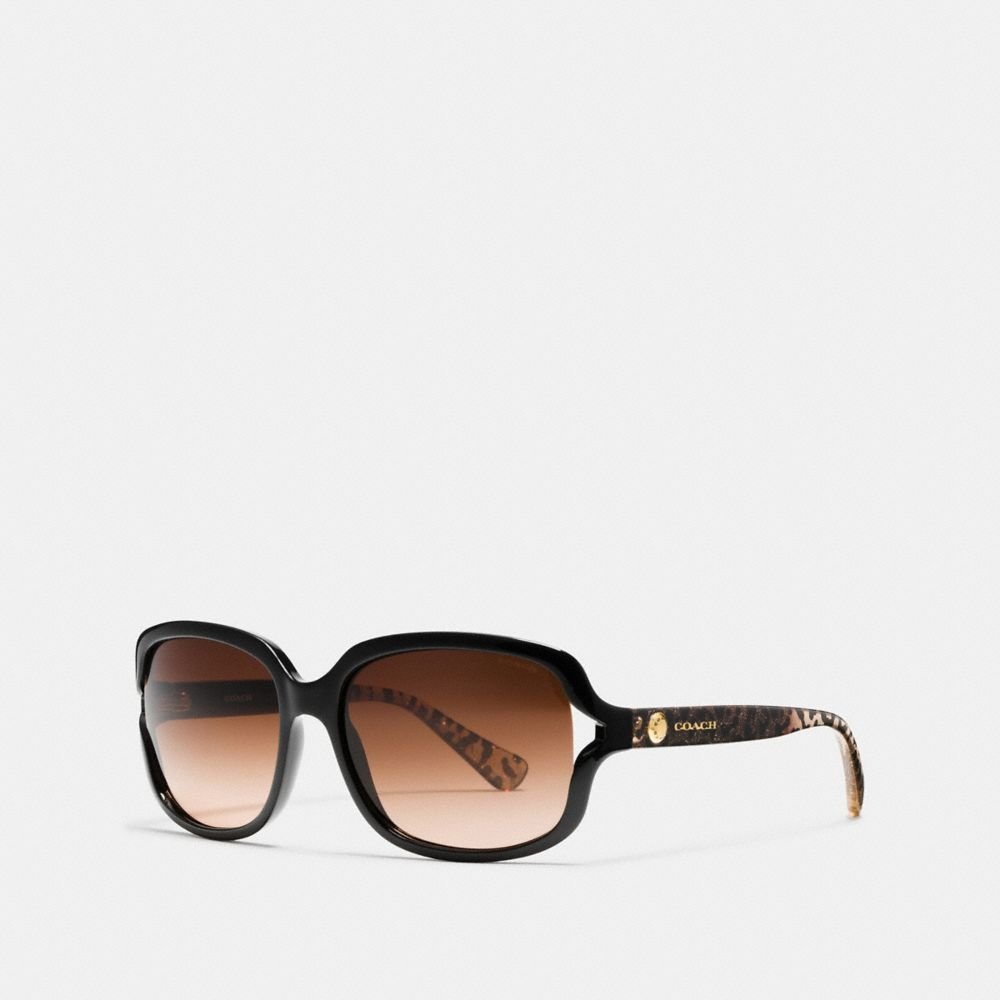 RIVET SQUARE SUNGLASSES