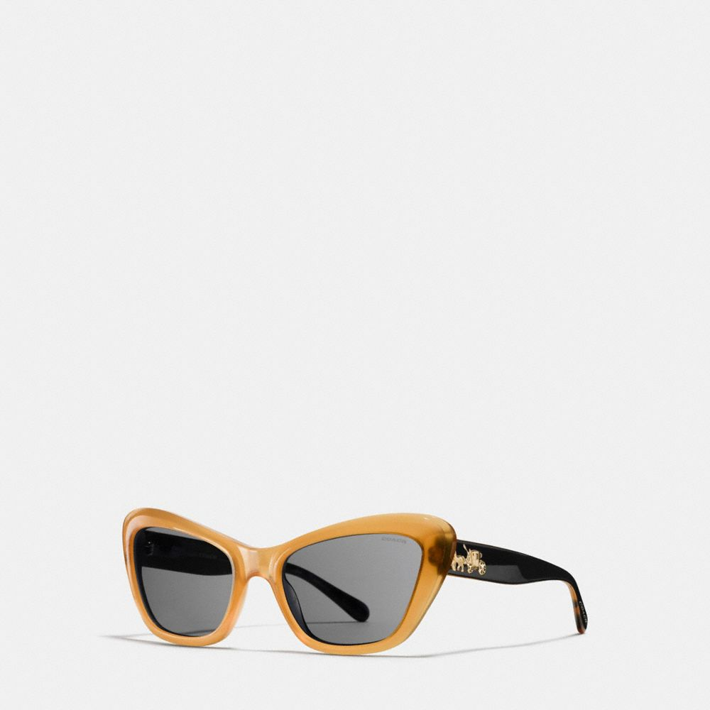 HORSE AND CARRIAGE CAT EYE SUNGLASSES
