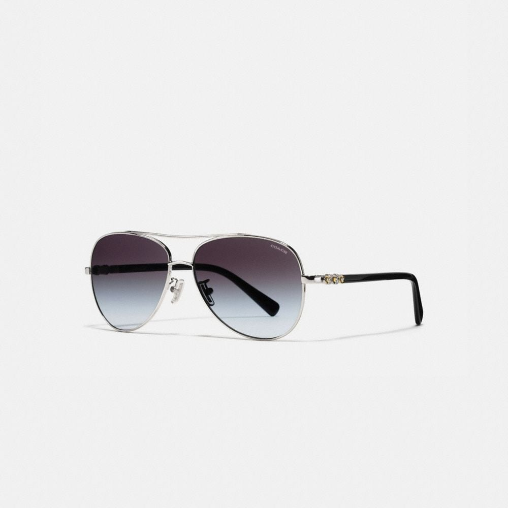 DAISY RIVET PILOT SUNGLASSES