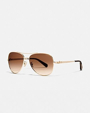 2f012ee226 HORSE AND CARRIAGE METAL PILOT SUNGLASSES