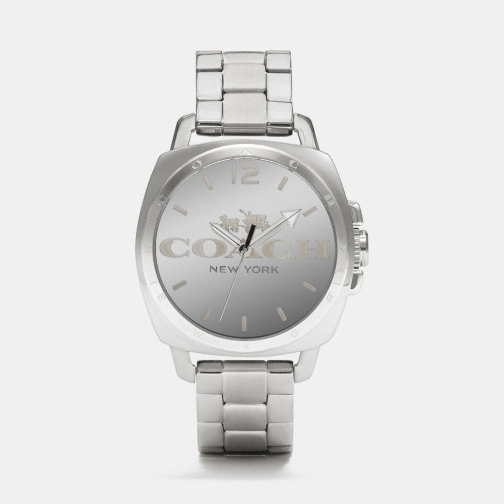 BOYFRIEND 40MM STAINLESS STEEL BRACELET WATCH