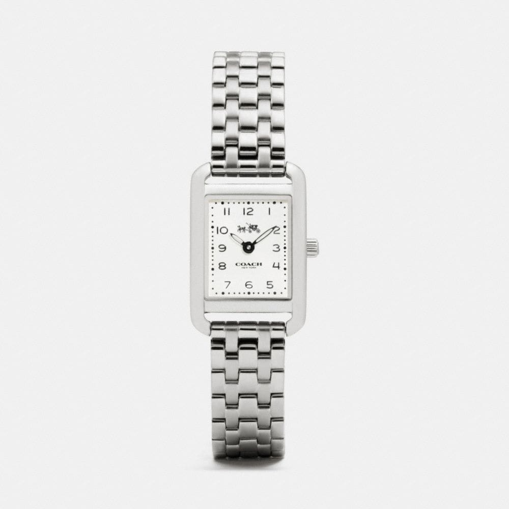 THOMPSON STAINLESS STEEL BRACELET WATCH