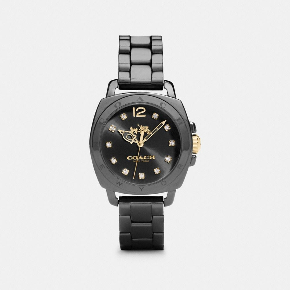 BOYFRIEND 34MM CERAMIC BRACELET WATCH