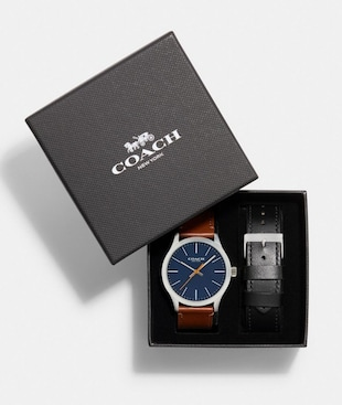 BAXTER WATCH GIFT SET, 39MM