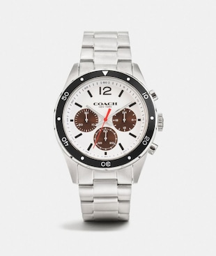 SULLIVAN SPORT CHRONO AL BEZE WATCH, 44MM