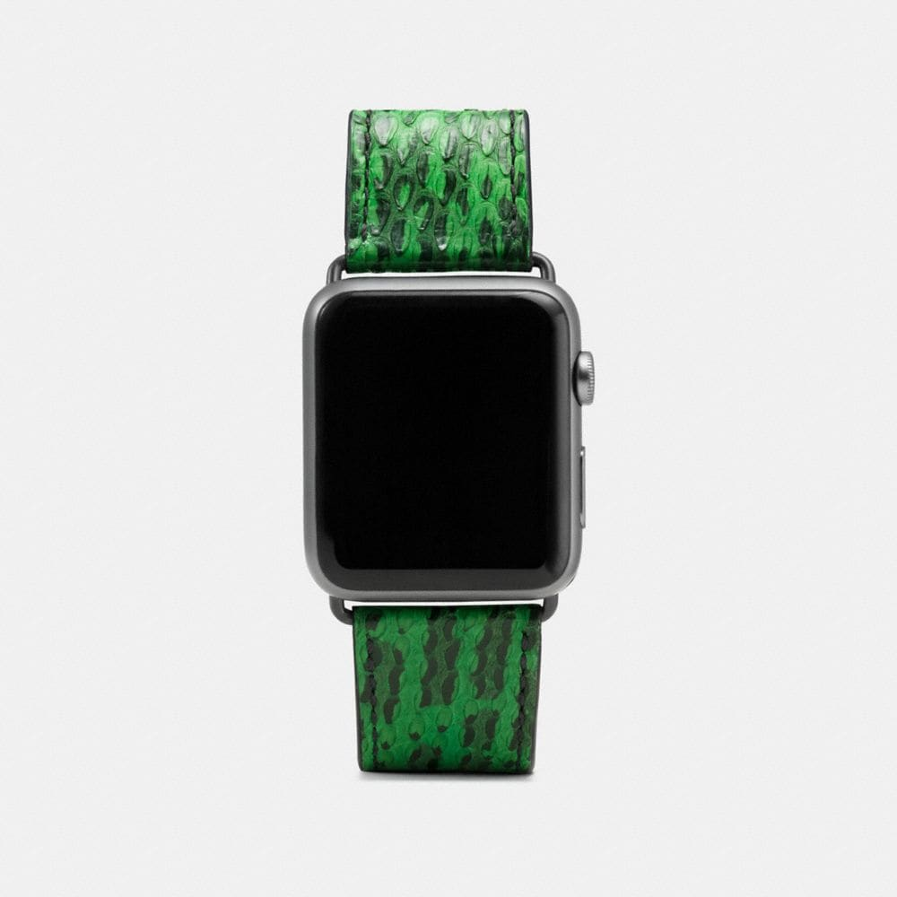CORREA PARA APPLE WATCH® EN PIEL DE SERPIENTE